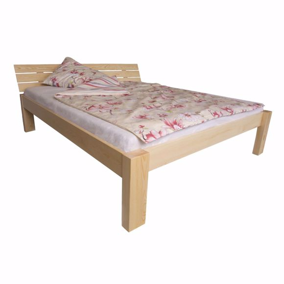 Picture of ARAM solid pine wood bed 180x200cm
