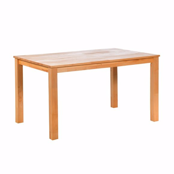 Picture of Solid beech dining table 140 x 90 cm Hard wax oil