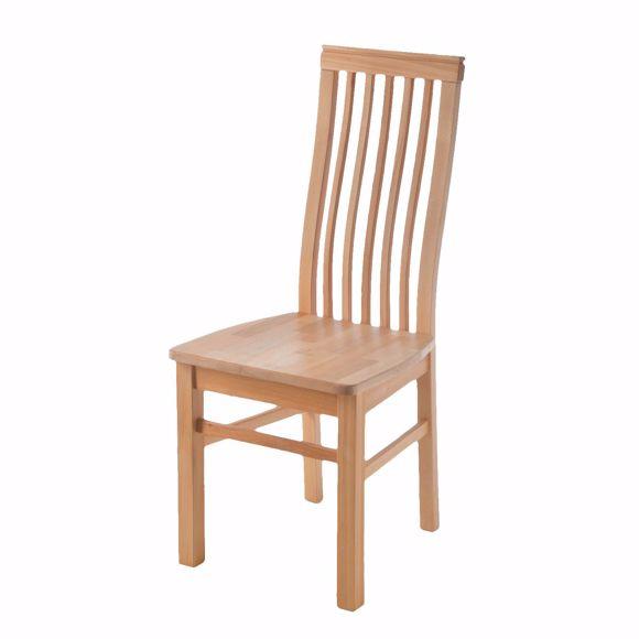 Image sur Chaise AREZZO pour table à manger en hêtre sans rembourrage