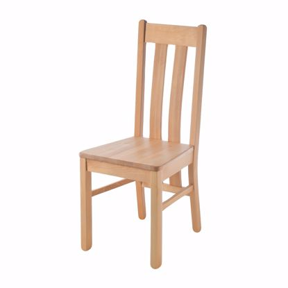 Picture of BOZEN chair for dining table beech without upholstery