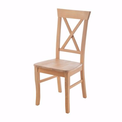 Picture of PARMA chair for dining table beech without upholstery