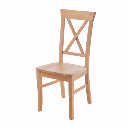 Obrazek Krzeslo PARMA do jadalni buk stolowy bez tapicerki