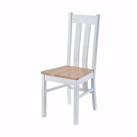 Image sur Chaise LUCCA pour table à manger en hêtre sans rembourrage