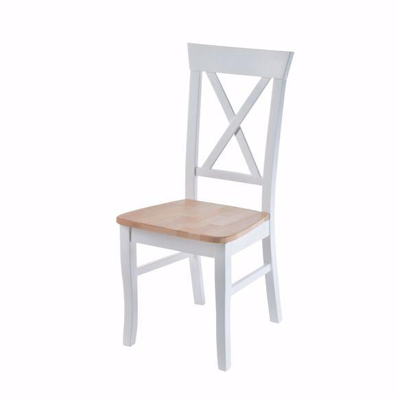 Bild von Essstuhl Esstischstuhl Küchenstuhl Holzstuhl Massivholz Hochlehner Buche PISA