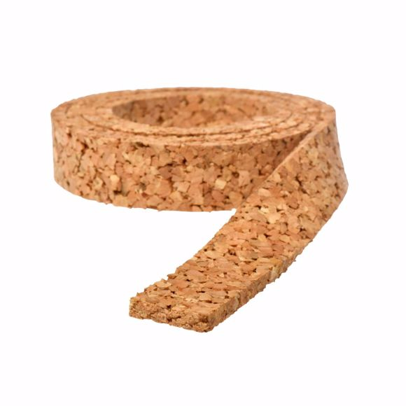 Picture of Track bedding 10 m cork for track H0 - 40 mm wide