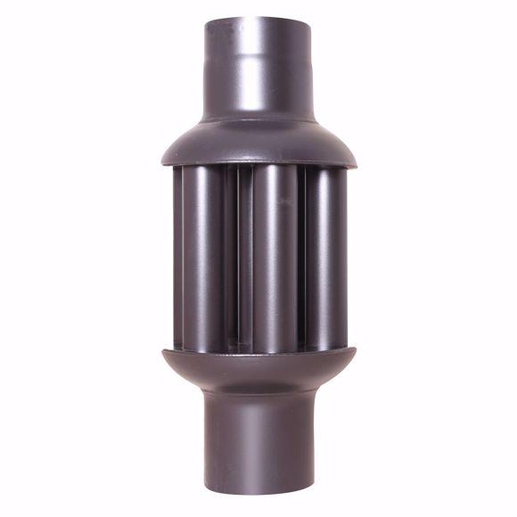 Bild von Warmlufttauscher 150 mm/ 65 cm Rauchgaskühler  Rauchrohr Abgaswärmetauscher