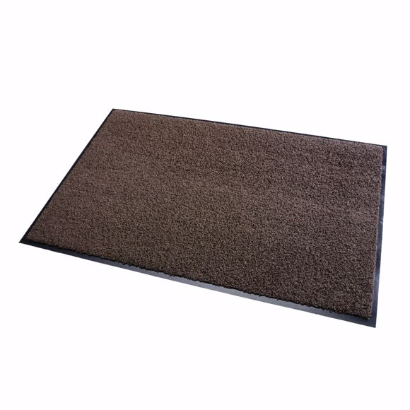 Picture of Dirt trap mat ZANZIBAR brown 90x150cm