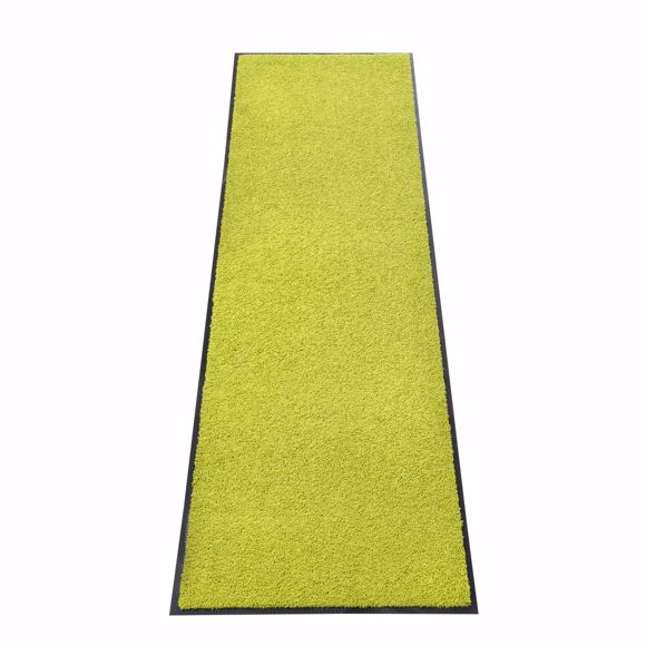 Picture of Dirt trap mat ZANZIBAR lemon 60x180cm