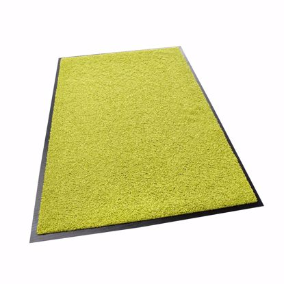 Picture of Dirt trap mat ZANZIBAR lemon 90x150cm