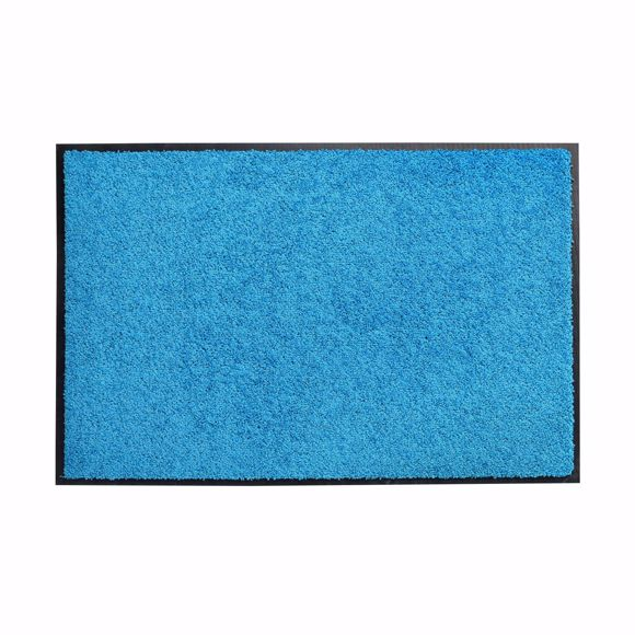Picture of Dirt trap mat ZANZIBAR blue 90x150cm