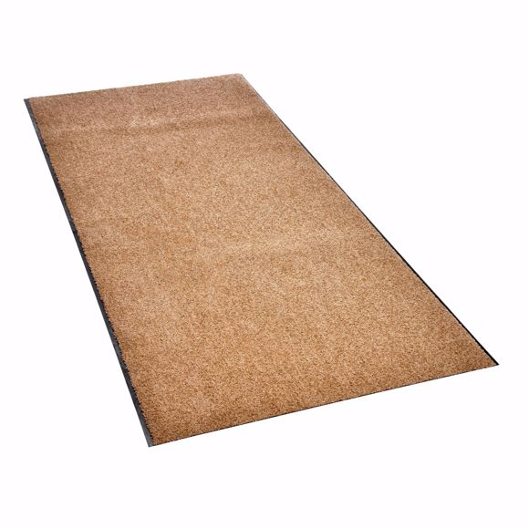 Picture of ZANZIBAR Dirt trap mat  taupe  90 x 250 cm roll material