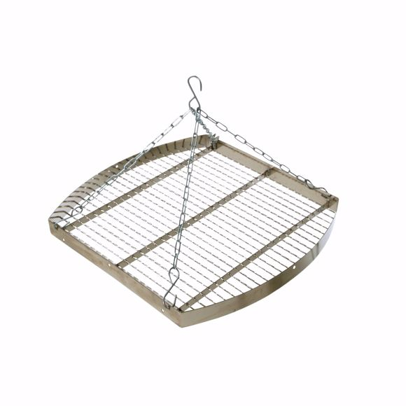 Picture of Hungarian grill with chain 50 cm * Chrome-plated