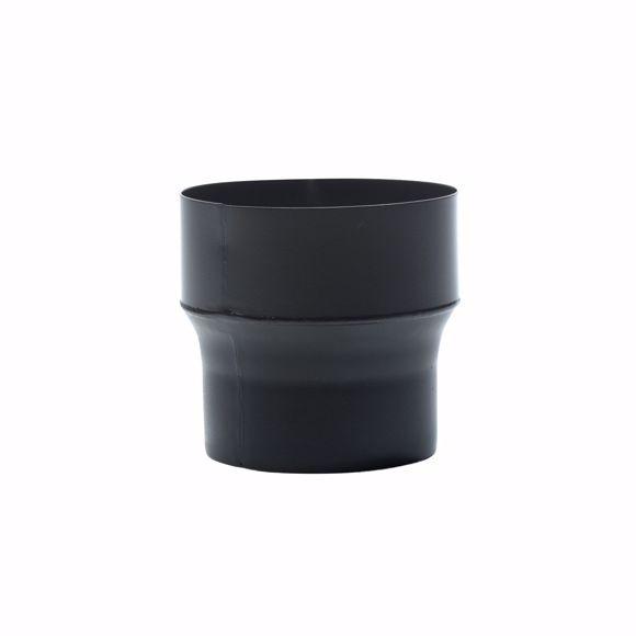 Bild von Ofenrohr Reduzierung 180mm > 160mm