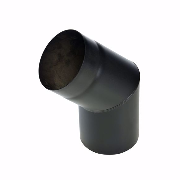 Foto de Curva del tubo de la estufa 45 grados 250mm