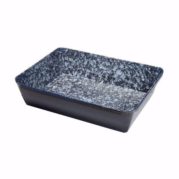 Picture of Enamel oven shape square 20x28x6 cm