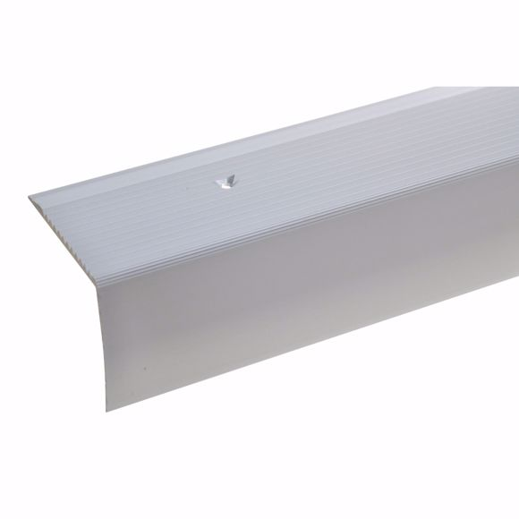 Picture of 42x50mm stair angle 135cm long silver drilled
