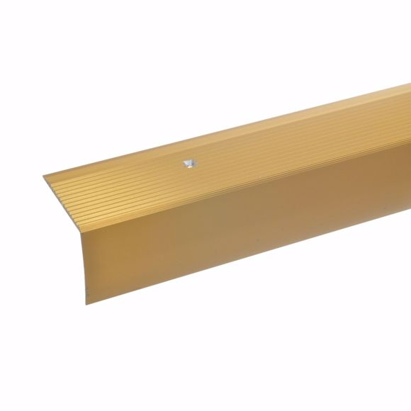 Picture of 42x50mm stair angle 135cm long gold drilled