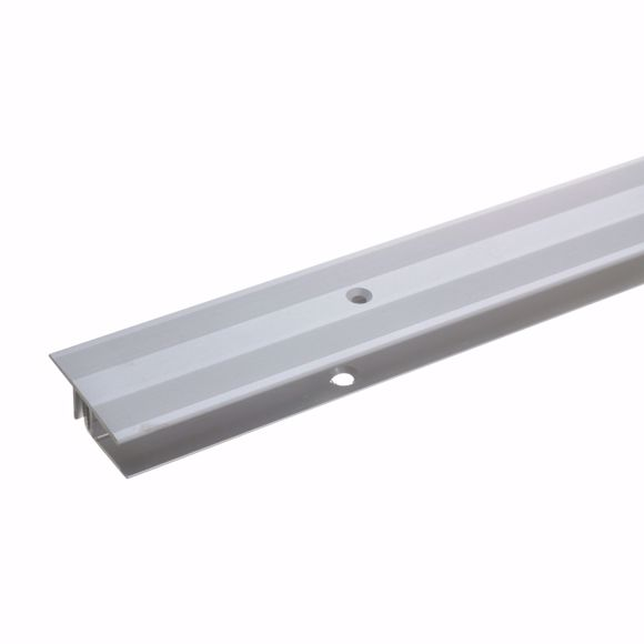 Picture of Transition profile 135cm silver 33 x 7-15mm drilled