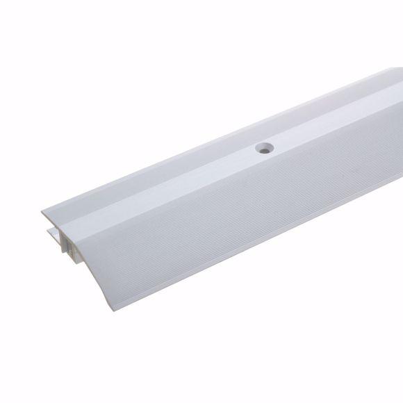 Foto de Perfil de ajuste de altura de aluminio 170 cm plateado 7-15 mm perfil de ajuste de altura 170 cm 7-1