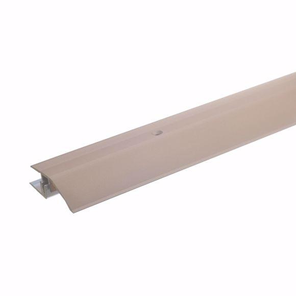 Obrazek Aluminiowy profil regulacji wysokosci 170 cm swiatlo brazowe 7-15 mm
