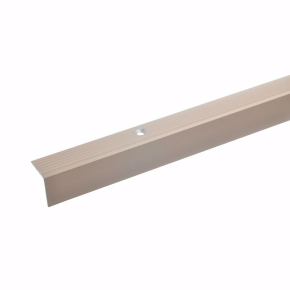 Picture of 20x20mm Stair angle 100cm long bronze light