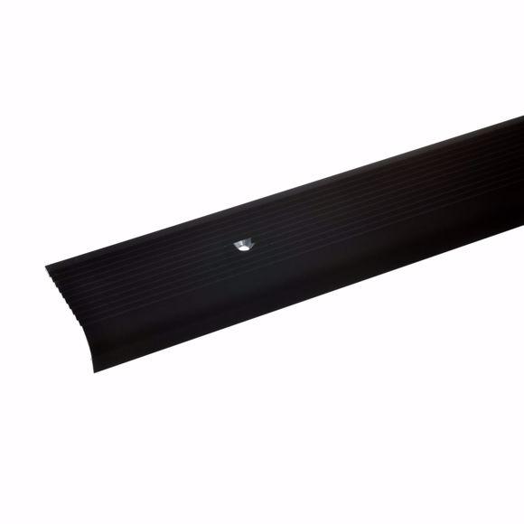 Image sur 15x40mm angle d'escalier 100cm long bronze foncé