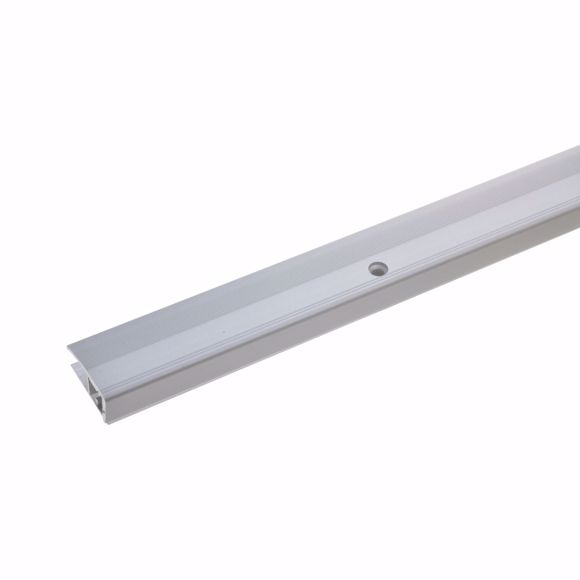 Foto de Perfil de extremidad de 90cm de plata 24 x 7-17mm taladrado