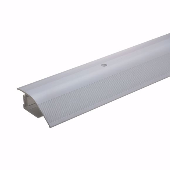 Bild von Alu Höhenausgleichsprofil 90cm silber 12-22mm Übergangsleiste Anpassungsprofil