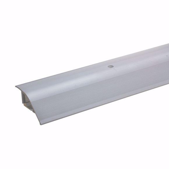 Afbeelding van Aluminium hoogteverstelprofiel 135cm zilver 12-22mm