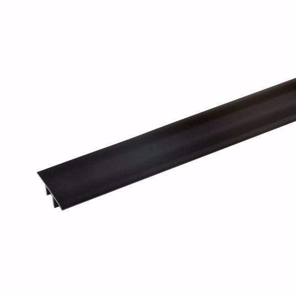 Bild von Übergangsprofil Alu Teppichschiene  100cm 7-10mm bronze dunkel Bodenprofil