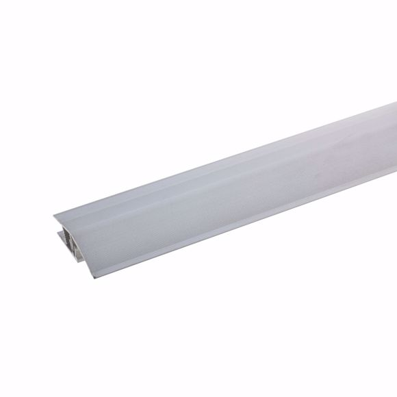 Picture of Aluminum height adjustment profile 90cm silver 7-10mm click