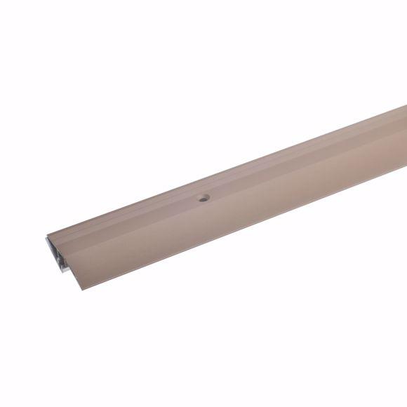Bild von Alu Höhenausgleichsprofil 100cm bronze hell 5-9mm Übergangsprofil Bodenprofil