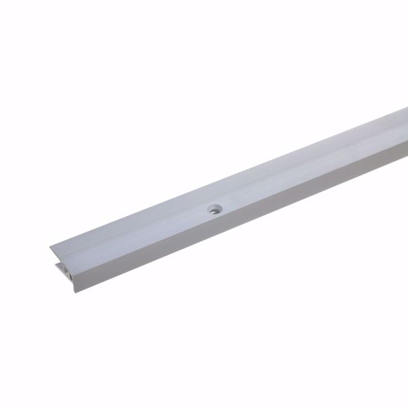 Picture of End profile 100cm silver drilled 21 x 5-9mm