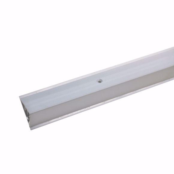Foto de Perfil de borde de escalón para parquet laminado 4 - 7 mm - 90 cm