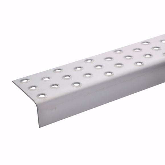 Image sur Bord d'escalier avec perforation en relief 25x60x15mm
