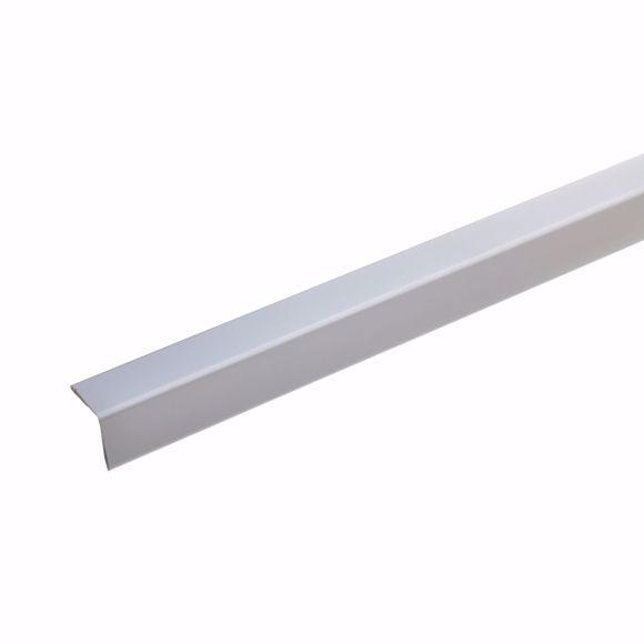 Image sur Cornière de protection d'angle 25x25x19 mm - 150 cm - aluminium