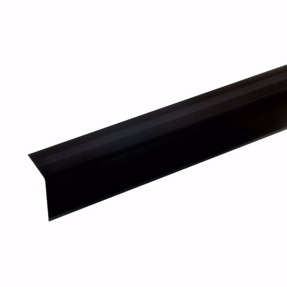 Picture of 42x30mm stair angle 100cm long bronze dark undrilled