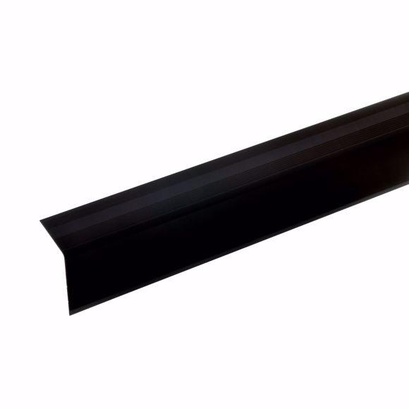 Foto de 42x30mm ángulo de la escalera 100cm de largo bronce oscuro no perforado