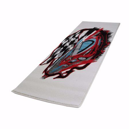 Picture of Teppich 160x230cm belebendes Kinderzimmerdesign II rot