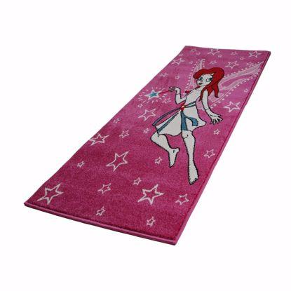 Bild von Teppich 120x170cm belebendes Kinderzimmerdesign III lila