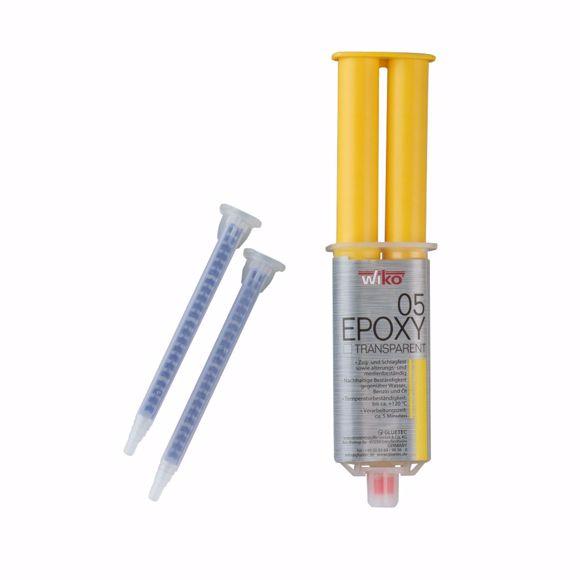 Image sur WIKO 2K Profi Epoxidharz 2-Komponenten Kleber 25ml Klebstoff Epoxy 5min