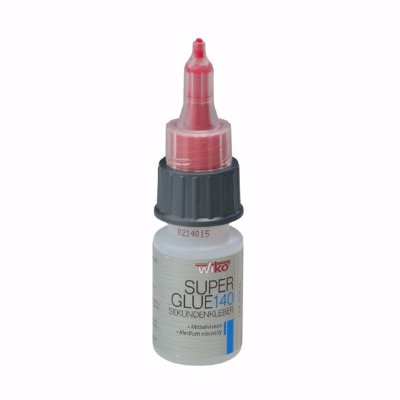 Picture of WIKO super glue Super Glue140 20g bottle transparent