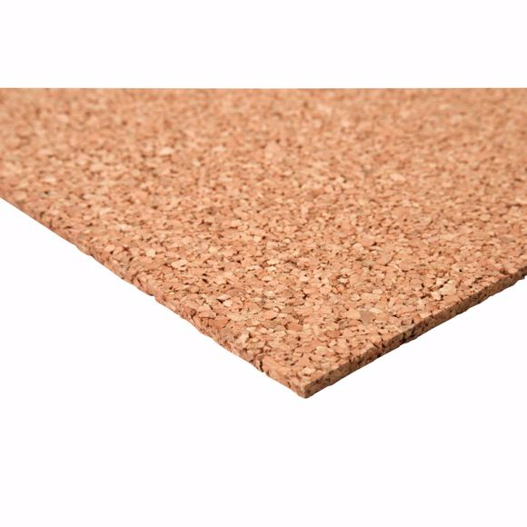 Picture of Pinboard cork board 60 x 100 cm - 6 mm thick
