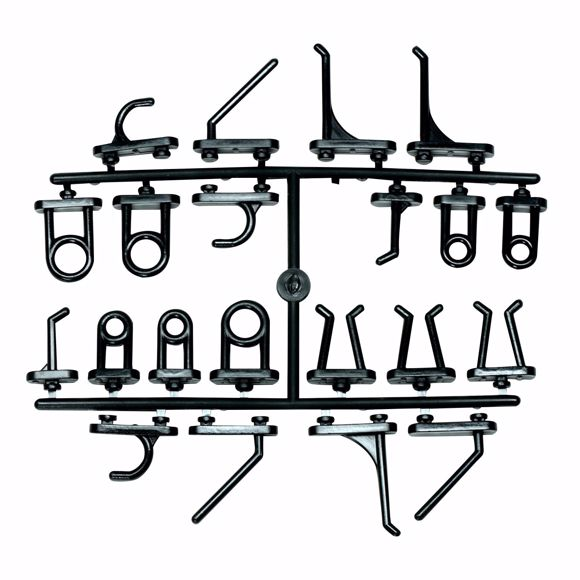 Picture of 44 pcs. Replacement hook for tool board 460x980mm