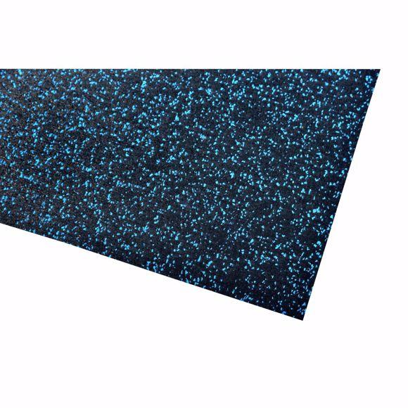 Bild von Multifunktionsmatte Sportunterlage 60x125x0,4 cm blau Unterlage Fitnessgeräte