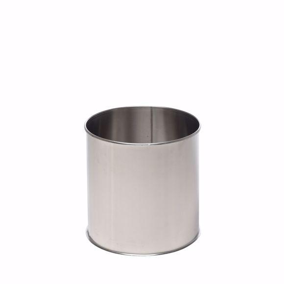 Image sur Pot de fleur en acier inoxydable rond 50cm * Résistant au gel * Résistant aux intempéries * Résistan
