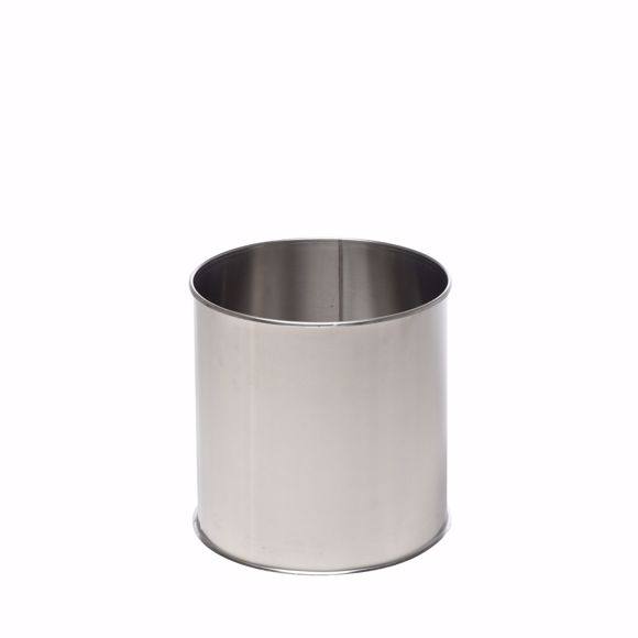 Picture of Stainless steel flower pot round 65cm * Frostproof * Weatherproof * Stainless * High quality flower