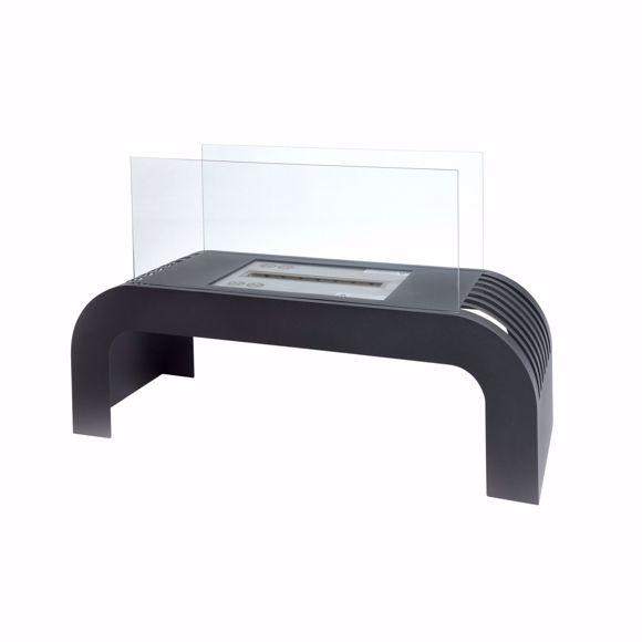 Image sur Cheminée de table SORENTO Premium Ethanol - 2kW - 75x45x30cm