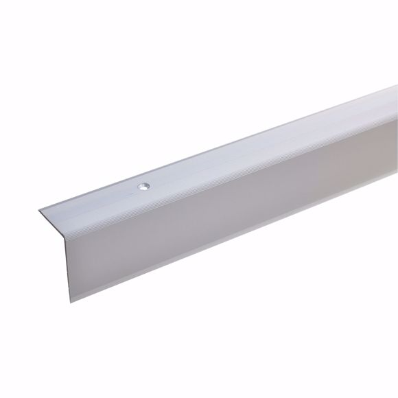 Picture of 42x30mm stair angle 135cm long silver drilled