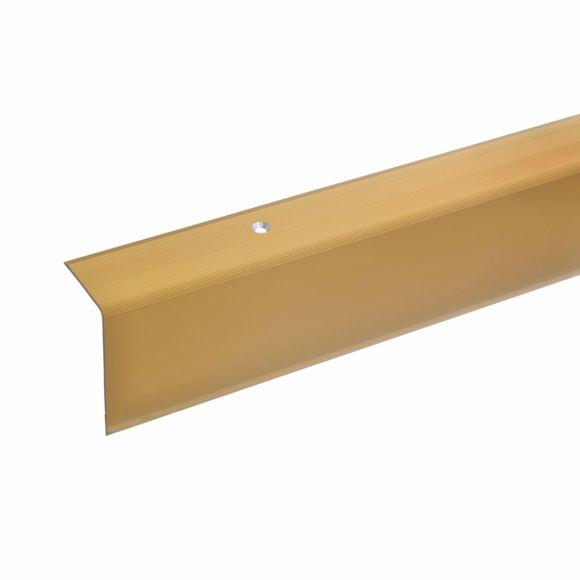 Image sur 52x30mm angle d'escalier 170cm long doré percé